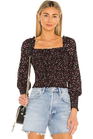 1. STATE Women Blouses - Ditsy Refresh Blouse in .