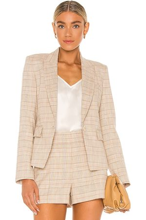 VERONICA BEARD Women Blazers - Louanne Jacket in Nude.