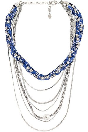 8 Other Reasons Multi Layered Necklace in Metallic .
