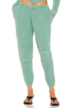The K Label Tonik Joggers in Turquoise.