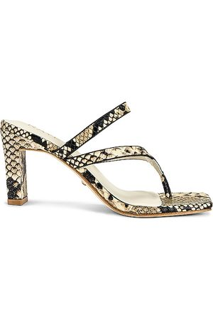 Raye Women Heeled Sandals - Mai Heel in Taupe.