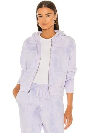 NILI LOTAN X REVOLVE Callie Zip Up Hoodie in Lavender.