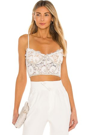 V. Chapman Chateau Top in White.