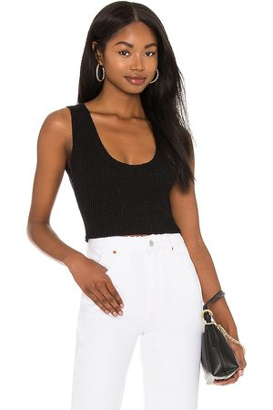 Rollas Crop Knit Camisole in .