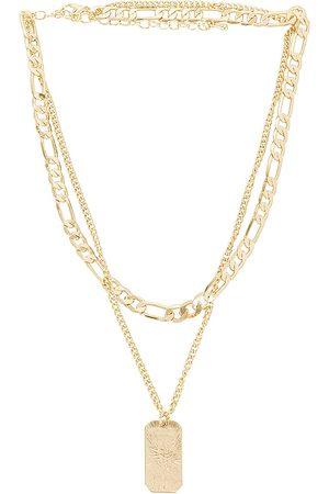 8 Other Reasons Women Necklaces - Layered Necklace in Metallic .