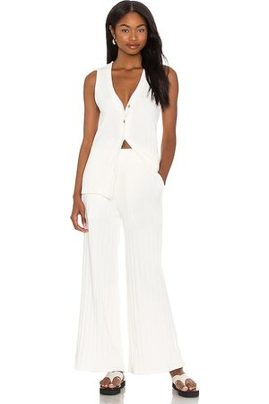 Free People Women Jumpsuits - X REVOLVE Dana Set in Ivory.