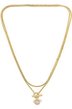 Jenny Veaux Wrap Necklace in Metallic .