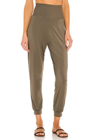 Commando Butter Full Length Jogger in Army.