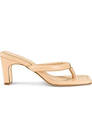 Song of Style Cherie Heel in Nude.