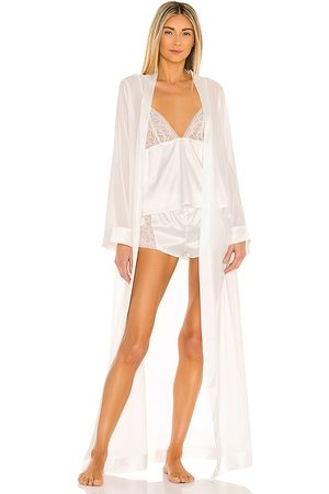 BlueBella Marcella Long Kimono in Ivory.