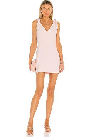 Amanda Uprichard Allora Dress in Blush.