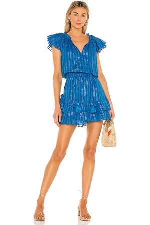 Karina Grimaldi Daisey Metallic Mini Dress in .