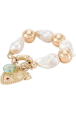 Dannijo Women Bracelets - Aqua Bracelet in Metallic .