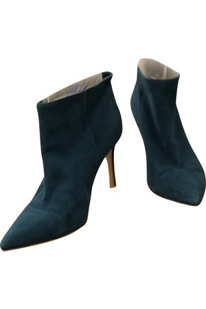 Gianvito Rossi Women Ankle Boots - \N Suede Ankle boots for Women