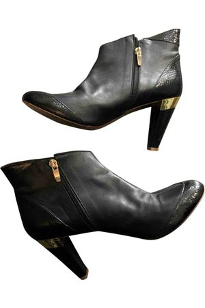 Gaspard Yurkievich \N Leather Ankle boots for Women