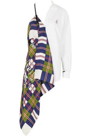 1/OFF Paris X Polo Ralph Lauren X Yves Saint Laurent asymmetric shirt