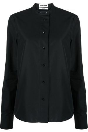 Jil Sander Collarless cotton shirt