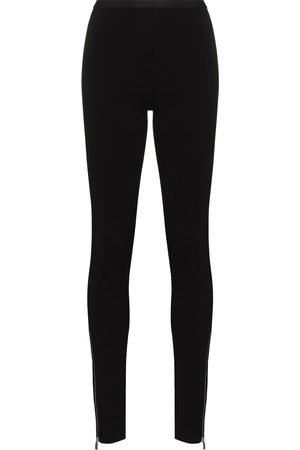 1017 ALYX 9SM Women Leggings - Mid-rise zip-ankle leggings