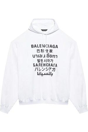 Balenciaga Translation logo-print hoodie