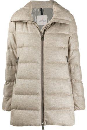 Moncler Women Jackets - Torcon caban jacket - Neutrals