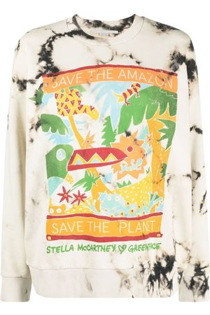 Stella McCartney X Greenpeace printed sweatshirt - Neutrals