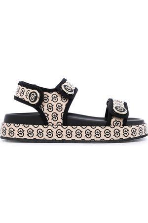 Salvatore Ferragamo Women Sandals - Gancio S sandals - Neutrals