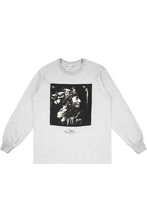 Supreme Men T-shirts - Harvest-print T-shirt - Grey
