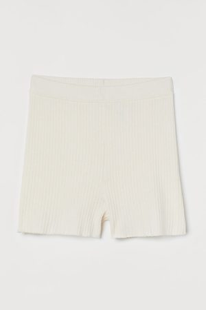 H&M Rib-knit Shorts