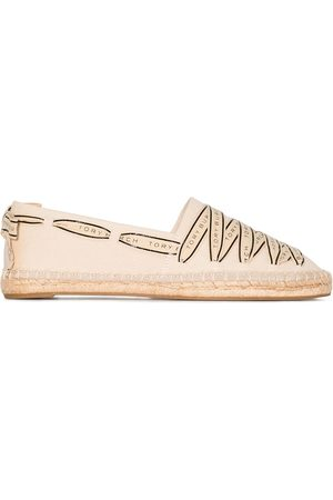 Tory Burch Tory Ribbon espadrilles - Neutrals