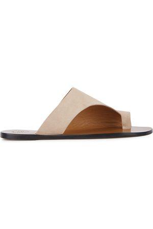 ATP Atelier Rosa blush suede sandals