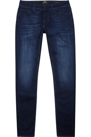 7 for all Mankind Ronnie Luxe Performance+ tapered-leg jeans