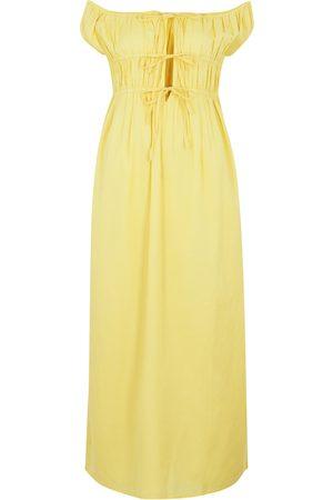 Gimaguas Women Strapless Dresses - Antonia off-the-shoulder midi dress