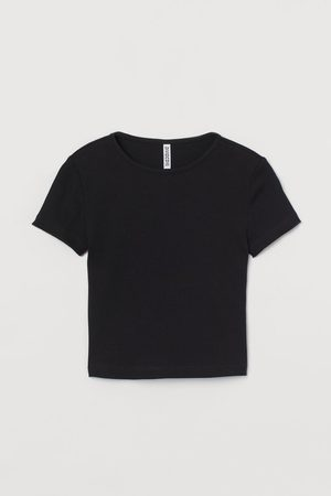 H&M Ribbed Crop Top