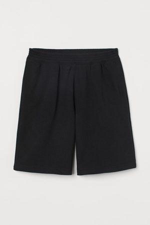 H&M Women Sweats - Wide-leg Sweatshorts