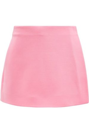 VALENTINO Crepe Couture Wool-blend Mini Skort - Womens