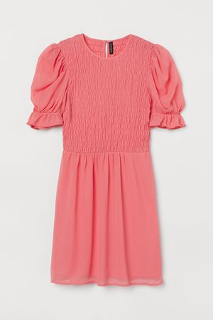 H&M Smocked-bodice Dress