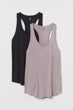 H&M 2-pack sports vest tops