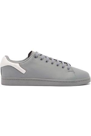 RAF SIMONS Men Sneakers - Orion Faux-leather Trainers - Mens - Grey