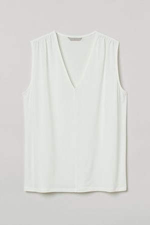 H&M Women Tank Tops - V-neck Top