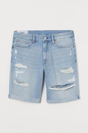 H&M Men Shorts - Regular Denim Shorts