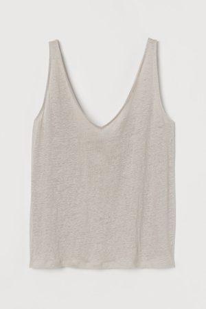 H&M Linen Tank Top