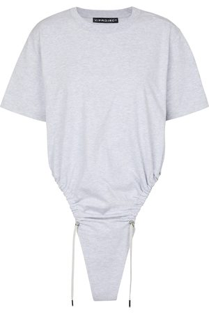 Y / PROJECT Drawstring cotton T-shirt
