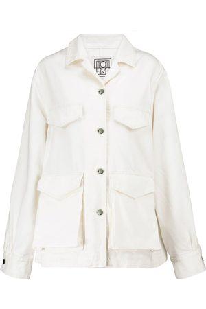 Totême Denim cargo jacket
