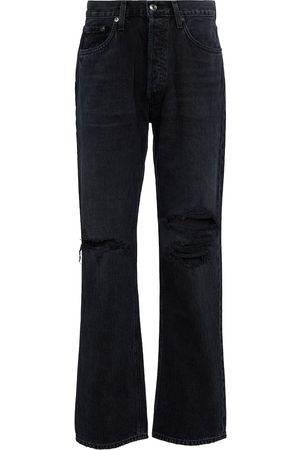 AGOLDE Women High Waisted - Lana high-rise straight jeans