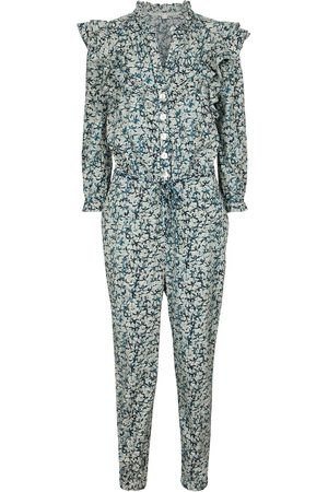 VERONICA BEARD Women Jumpsuits - Tanay printed cotton jumpsuit