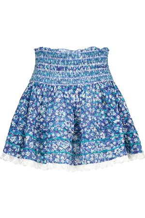 POUPETTE ST BARTH Exclusive to Mytheresa – Galia floral cotton miniskirt