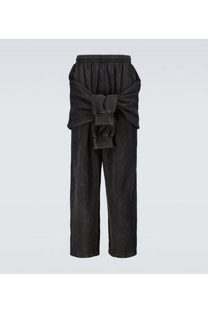 Balenciaga Tied-up sweatpants