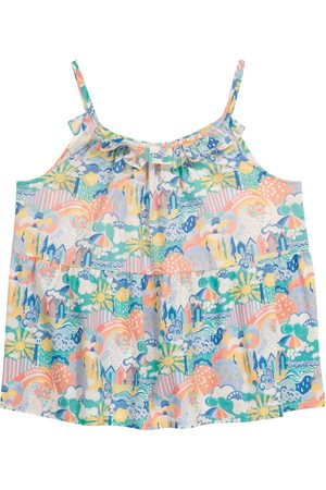 BONPOINT Girls Tops - Nini printed cotton top