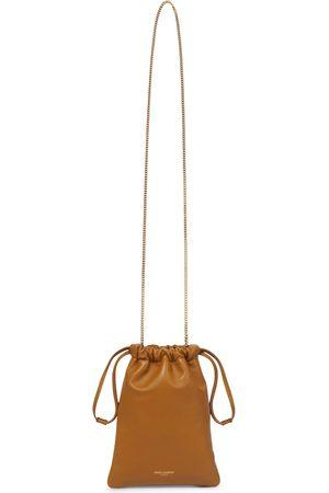 Saint Laurent Women Shoulder Bags - Paris Small leather pouch