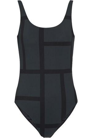 Totême Positano logo swimsuit